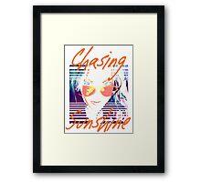 Chasing Sunshine Framed Print