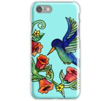 Sweet Humming Bird iPhone Case/Skin