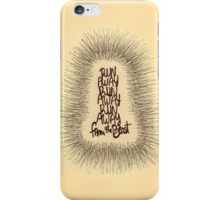 sabertooth tiger - cage the elephant song iPhone Case/Skin