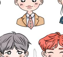 BTS Forever Young Stickers FULL SET (NIGHT) Sticker