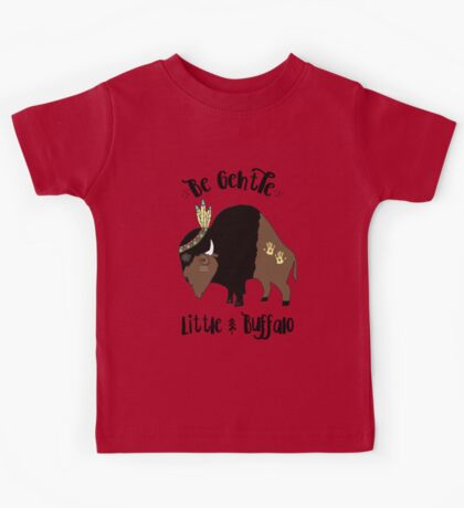 Whimsical Buffalo - Native American Kids Tee