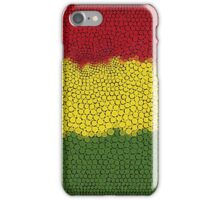 The red, the gold and the green iPhone Case/Skin