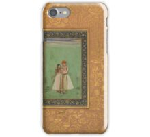 Govardhan, Shah Shuja with a Beloved iPhone Case/Skin