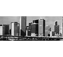 Infrared Miami Photographic Print