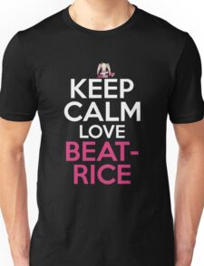 Keep Calm And Love Beatrice Anime Shirt Unisex T-Shirt