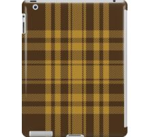 00617 Yellow Pencil Tartan  iPad Case/Skin