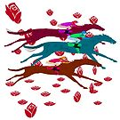 Run for the Roses 2016 Kentucky Derby by Ginny Luttrell