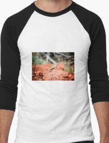 Desert Reptile Men's Baseball ¾ T-Shirt