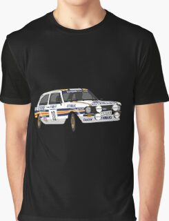 Fortitude's Ford Escort Mark 2 BDA Cosworth Graphic T-Shirt