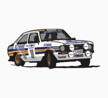 Fortitude's Ford Escort Mark 2 BDA Cosworth One Piece - Short Sleeve