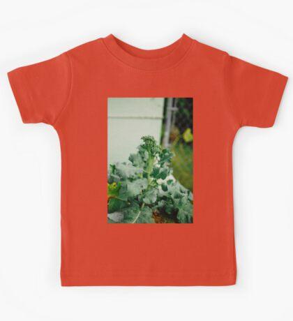 Broccoli In The Garden Kids Tee