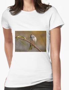 Male House Sparrow Womens Fitted T-Shirt