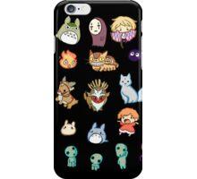 Studio Ghibli (Chibi) iPhone Case/Skin