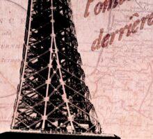 Travel to Paris Sticker