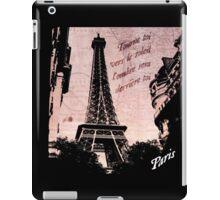 Travel to Paris iPad Case/Skin