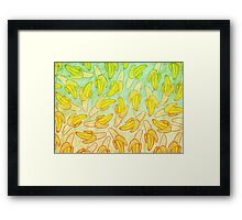 BANANA - RAINBOW by Kohii Love & Toso Journ Framed Print