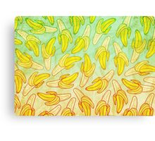 BANANA - RAINBOW by Kohii Love & Toso Journ Canvas Print