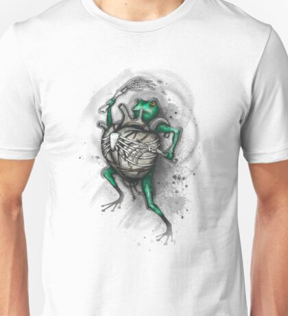 Frog Beater Shirt (Light Background) Unisex T-Shirt