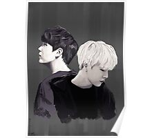 Yin Yang - MIN YOONGI Poster