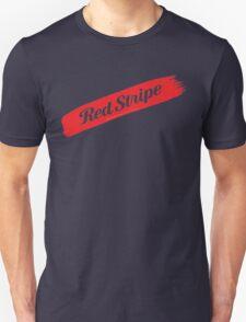 Red Stripe Jamaican  T-Shirt