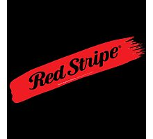 Red Stripe Jamaican  Photographic Print