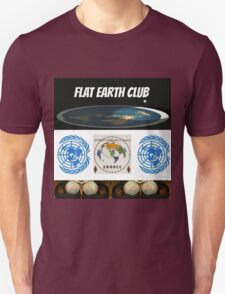 flat earth club T-Shirt