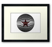 Winter Soldier Star Framed Print