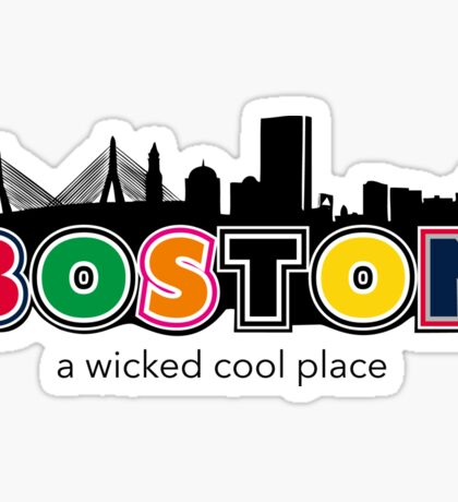 Wicked Boston Sticker