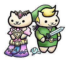 Game Kitties Photographic Print