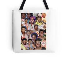 Leslie Jones collage Tote Bag