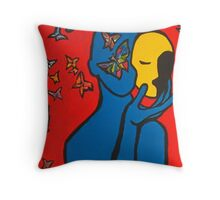 Skin Deep Throw Pillow