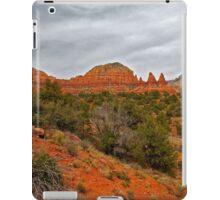 Red Rocks, Gray Sky iPad Case/Skin