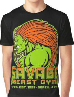 Savage Beast Gym Graphic T-Shirt