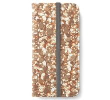 Gold confetti. Shiny seamless texture .Shine.Sequins iPhone Wallet/Case/Skin