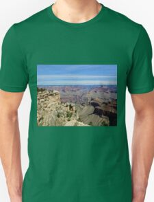 Grand Canyon 12 Two Ravens Fly Over Unisex T-Shirt