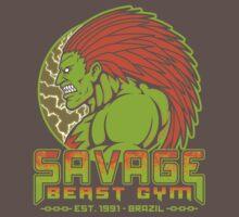 Savage Beast Gym One Piece - Short Sleeve