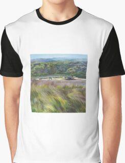 Tidal River Bridge Graphic T-Shirt
