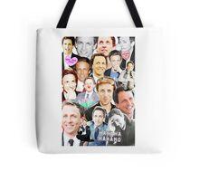 Seth Meyers collage Tote Bag