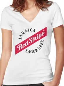 The Best Lager Women's Fitted V-Neck T-Shirt