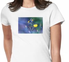 The Checkerspot Couple Womens Fitted T-Shirt