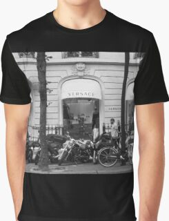 Versace Boutique Graphic T-Shirt