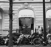 Versace Boutique by Fiona Allan Photography
