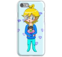 Clemont and Plushie Ash iPhone Case/Skin