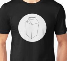 Carton White Circle Unisex T-Shirt