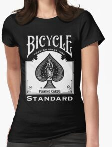 deck of cards Womens Fitted T-Shirt