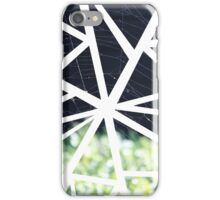 Abstract Geometric Spider Web Collage iPhone Case/Skin