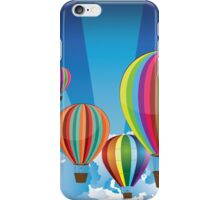 Air Balloons in the Sky 2 iPhone Case/Skin