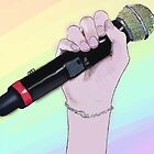 Rainbow/Pastel Mic by Winchesterurie