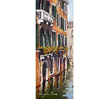 Colours of Venice Photographic Print