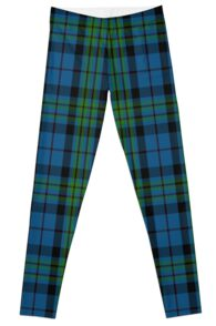 00692 Notre Dame Marching Guard Tartan Leggings
